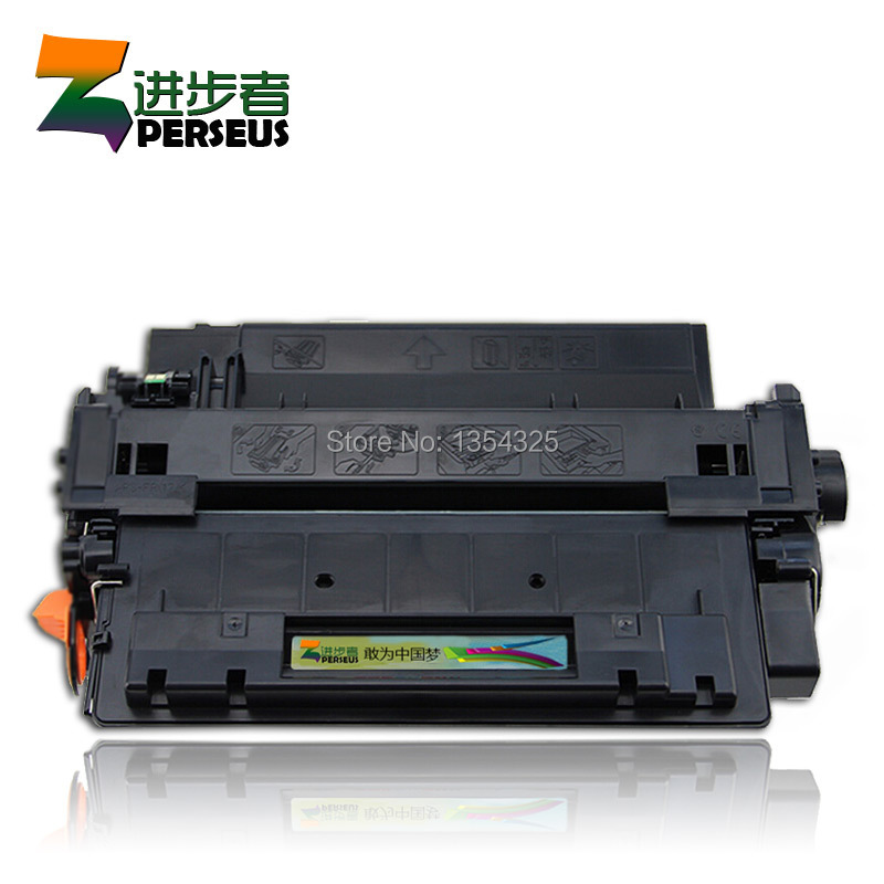 PERSEUS TONER CARTRIDGE FOR HP CE255A 55A BLACK COMPATIBLE HP LASERJET P3010 P3015 P3015DN P3015X PRINTER GRADE A+