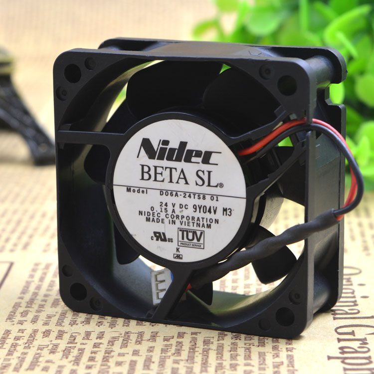 Free Delivery. 24 ts8 D06A - 01 original 24 VDC 0.15 A <font><b>60</b></font> * <font><b>60</b></font> * 25 <font><b>mm</b></font> inverter <font><b>fan</b></font> image