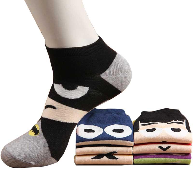 Cartoon Cotton   Socks   Women Spring New Cute Soft Harajuku Lovely Short Novelty   Socks   Female Hot Sale Sweet Fashion Summer   Socks