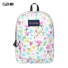 Ou Mo brand ins laptop backpack Women anti theft school Bag teenagers man computer feminina Backpack schoolbag