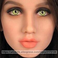 WMDOLL Green Eyes for TPE Sex Doll Realistic Silicone Sex Dolls Elf Eye Adult Love Doll