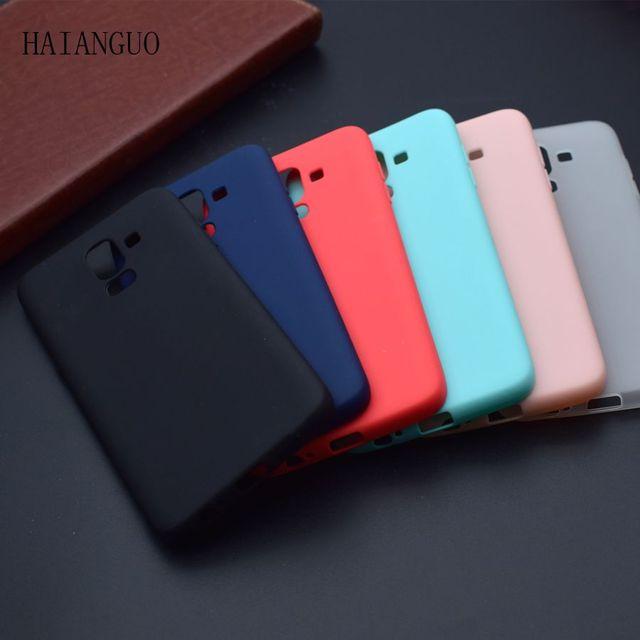 Haiamguo Permen Warna Tpu Silicone Karet Kasus Untuk Samsung Galaxy