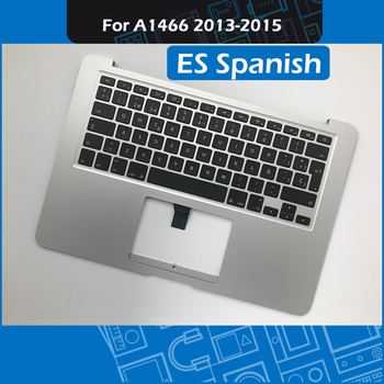 """Laptop A1466 Top Case ES Spain Layout for Macbook Air 13"""" A1466 Topcase with Spanish Keyboard Replacement 2013-2015 Year"""