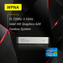 РГНС UX850-mini Неттоп intel core i5 7200U HD Graphics 620 WIFI mini pc окна Все В Одном Компьютере Office Для Настольных
