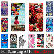For Samsung Galaxy A3 2016 A310 4 7 inch Case Hard Plastic Mobile Phone Cover Case