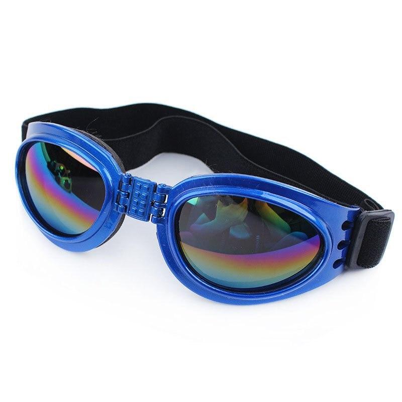 Impermeável pet dog dobrável óculos de sol óculos de cão de grande porte  médio grande pet dog goggles uv dos óculos de proteção óculos de sol eyewear e75619b062