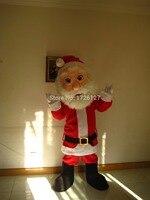 Талисман Рождество Санта Клаус костюм талисмана пользовательские фантазии костюм характера косплей необычные платья карнавальный костюм