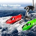 Nueva Wltoys WL915 2.4 GHz 45 km/h de Alta Velocidad RC Barco Sin Escobillas Potencia Máxima Barco DEL RC Juguetes Regalos Para Los Niños