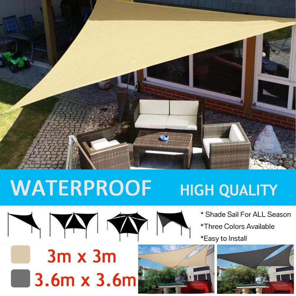 Sun Shelter Sunshade Protection Outdoor Canopy Garden Patio Pool Shade Sail Awning Camping Picnic Tent bluerise modern outdoor umbrella garden patio sunshade 6 bones folding advertising beach garden tent umbrella villa garden