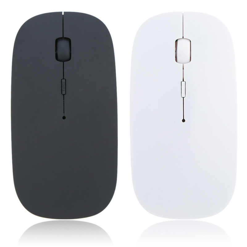 Wireless Mouse USB Receiver Komputer Mouse Mouse Mause untuk PC Laptop Desktop