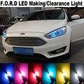 4X Erro T10 Livre 2835 Luzes de Apuramento Para F.O.R.D Foco 2 3 4 1 mustang kuga Fiesta Fusão mondeo mk3 mk4 ka Acessórios LED
