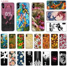 Lavaza Cute daisy Hard Phone Case for Apple iPhone 6 6s 7 8 Plus X 5 5S SE for iPhone XS Max XR Cover закаленное стекло с цветной рамкой fullscreen для xiaomi mi 5c df xicolor 11 gold