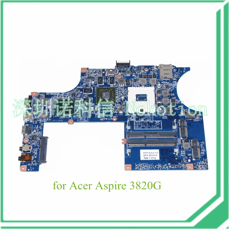 JM31-CP MB 09921-3 48.4HL01.031 MB.PV001.001 For acer aspire 3820T 3820 Motherboard HM55 DDR3 ATI HD 5650 Graphics fxcnc 3d aluminum foldable motorcycle brake lever clutch lever for yamaha mt03 2006 2011 2007 2008 2009 moto brake clutch levers