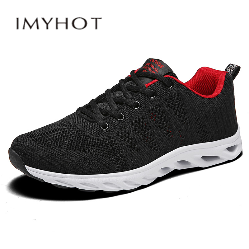 Hot Sell  Men Sport Shoes Outdoor Walking Jogging Breathable  Sports Shoes Durable Comfortable Lace-up Sneakers Walking