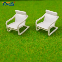 1/50 scale ABS Model Chair, DIY Building Sand Table Model of the Scene Production Materials, Indoor Furniture