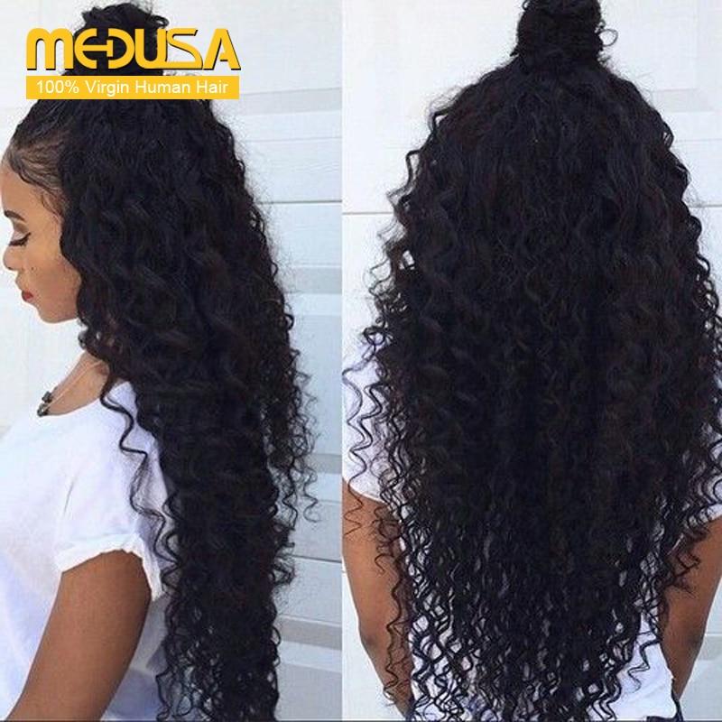 Malaysian Deep Wave 3 Bundles Deep Curly Virgin Hair Deep