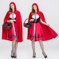 CFYH 2018 New Clothing Halloween Stage Little Red Riding Hood Costumes