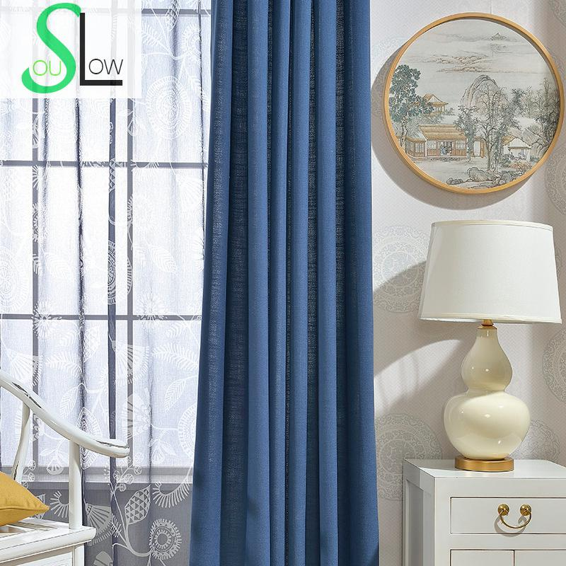 awesome light green living room curtains   Slow Soul Dark Blue, Lotus Root Pink, Yellow Green, Light ...