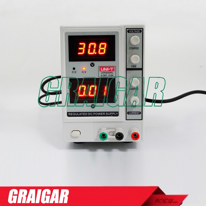UNI-T UTP3315TFL DC Power Supply Constant Voltage Current Function Current 0~30V 0~3A Power Source new original power supply s82h 3315