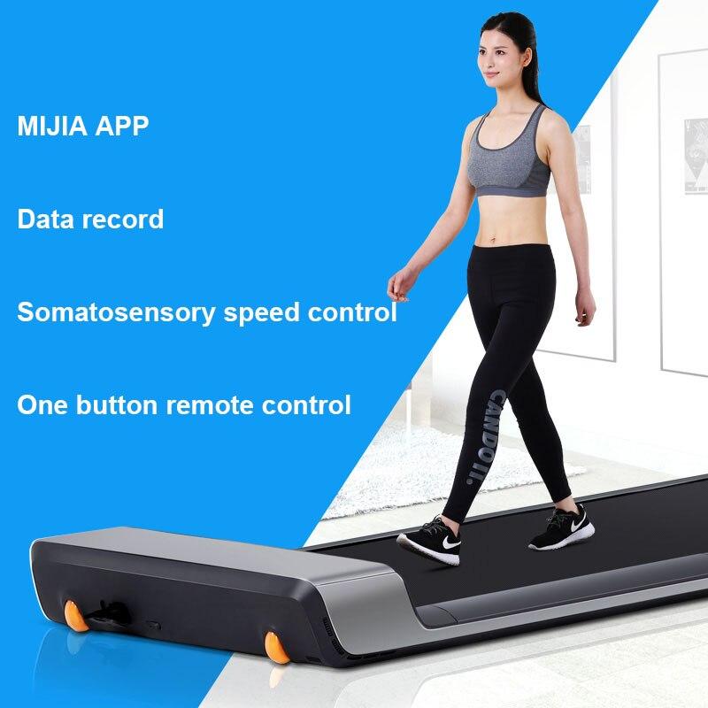 XIAO mi mi JIA Walkingpad marche machine pliable modèles ménagers bande de roulement non plate mi ll muet petit mi llet smart app - 2