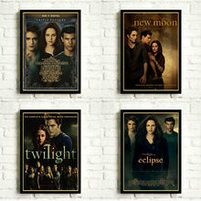 The Twilight Saga: Classic Movie Posters and Retro Kraft Paper Print Home Decor Painting Poster No Frame(China)