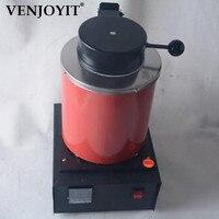 Автоматический электрический плавильной печи Silver & Gold Pour бар 2 кг Crucible + tong цифровой контроллер 110 В и 220 В