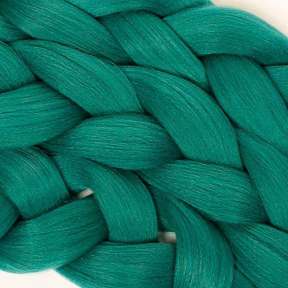 MUMUPI Мода 20 цветов 82 дюймов волосы для наращивания градиент плетение синтетические накладные волосы Джамбо Вязание косичками волосы