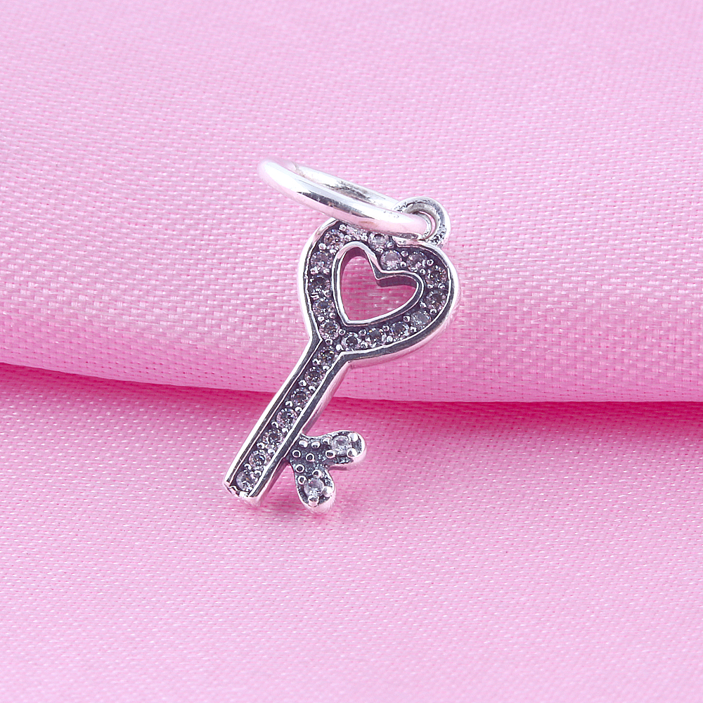 ZMZY Jewelry Fits Pandora Bracelet 100% 925 Sterling Silver Zircon ...