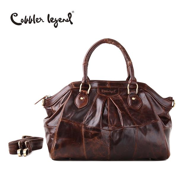 Cobbler Legend Brand Design Women's Handbags Shoulder Retro Genuine Leather 2017 New Arrival Women Messenger Bags Handbag 804217
