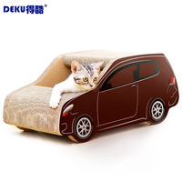 Cat kennel SUV car design cat scratcher toy kitty play bed house cat condos best selling pet products dropshipping