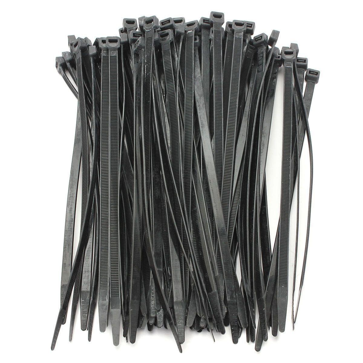 Tie Wraps 100 GREY Cable Ties Zip Ties