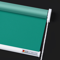 High Quality Roller blinds for window decoration Heat Insulation Sunshade Window Roller Shades Office Bedroom