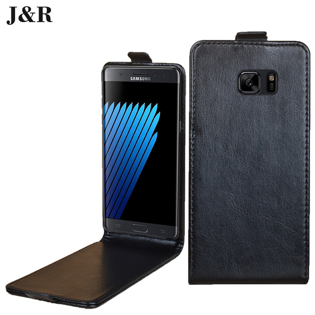 Leather case for Samsung Galaxy note 7 N930FD SM-N930F flip cover case housing for Samsung N 930 F phone covers cases phone bags