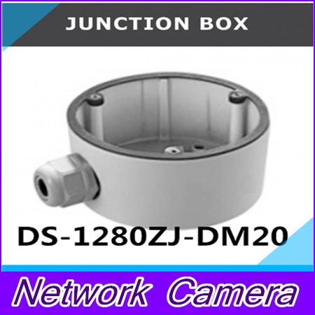 ФОТО DS-1280ZJ-DM20 Junction Box Bracket CCTV Camera Accessories Conduit Base For 2CD27xx series Dome Camera