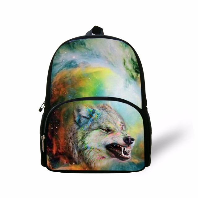 24ba889fa520 FORUDESIGNS Galaxy Wolf Eagle Backpacks For Men Women Casual Travel Daypack  Cool 3d Prints Soft Kids School Backpack Wholesale