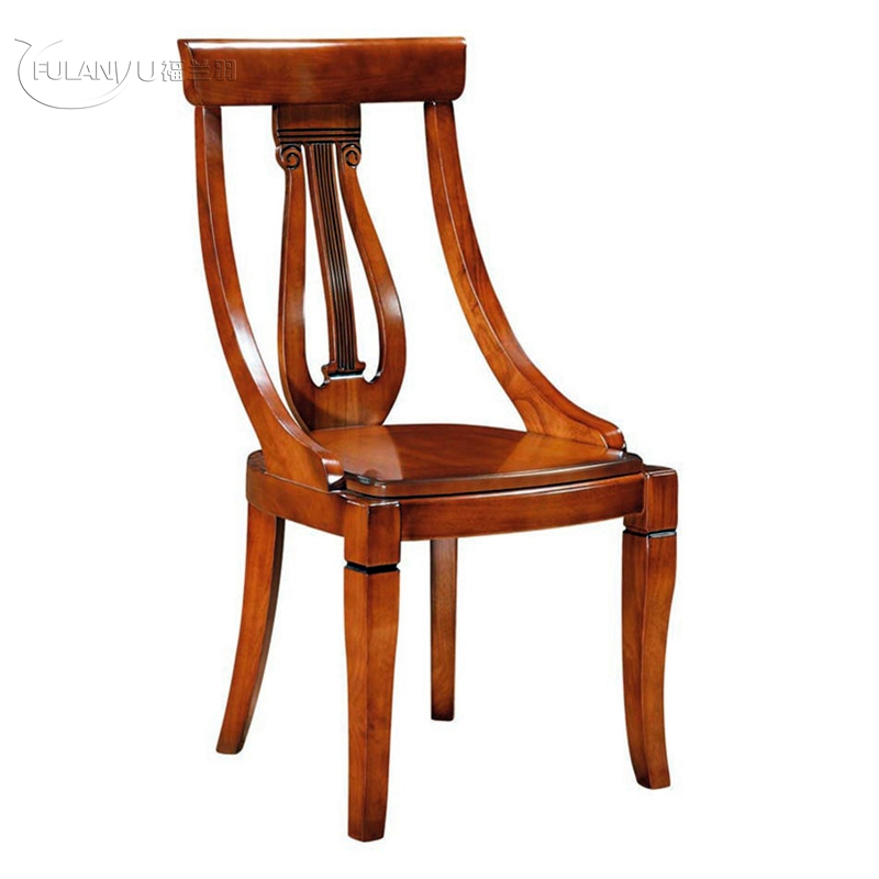 Family dining chair, hotel dining chair, wood dining chair,European style wooden chairs dining 9050a the artificial leather dining chair kitchen chair and iron chair are white according to the bar s kitchen family furn