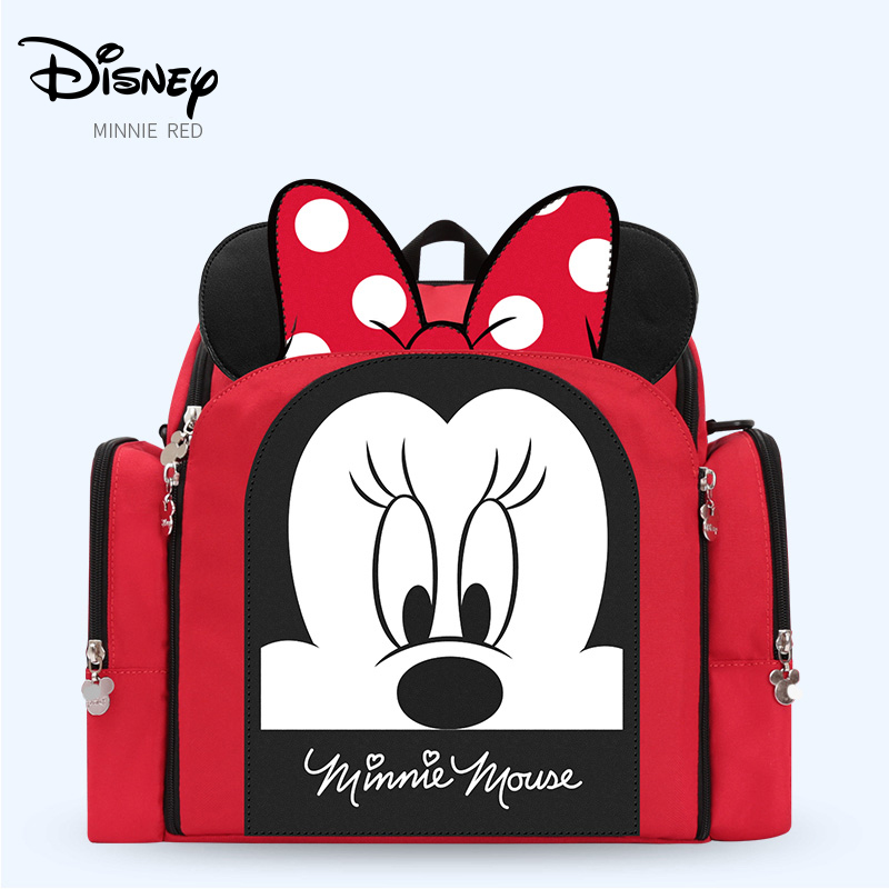 Disney Dining Chair Bag Multifunctional Diaper Bag Waterproof Mother Handbag Nappy Backpack Travel Mummy Bags