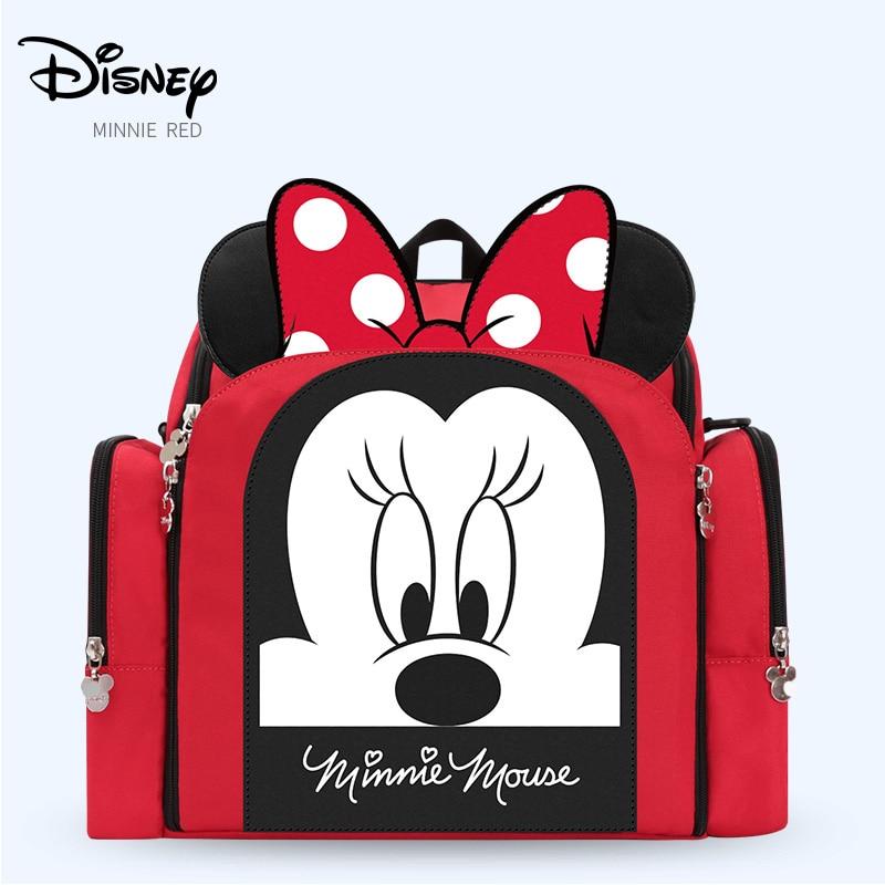 Disney เก้าอี้รับประทานอาหารกระเป๋าผ้าอ้อมกระเป๋าแม่กระเป๋าผ้าอ้อมกระเป๋าเป้สะพายหลังเดินทางกระเป๋า-ใน กระเป๋าผ้าอ้อม จาก แม่และเด็ก บน AliExpress - 11.11_สิบเอ็ด สิบเอ็ดวันคนโสด 1