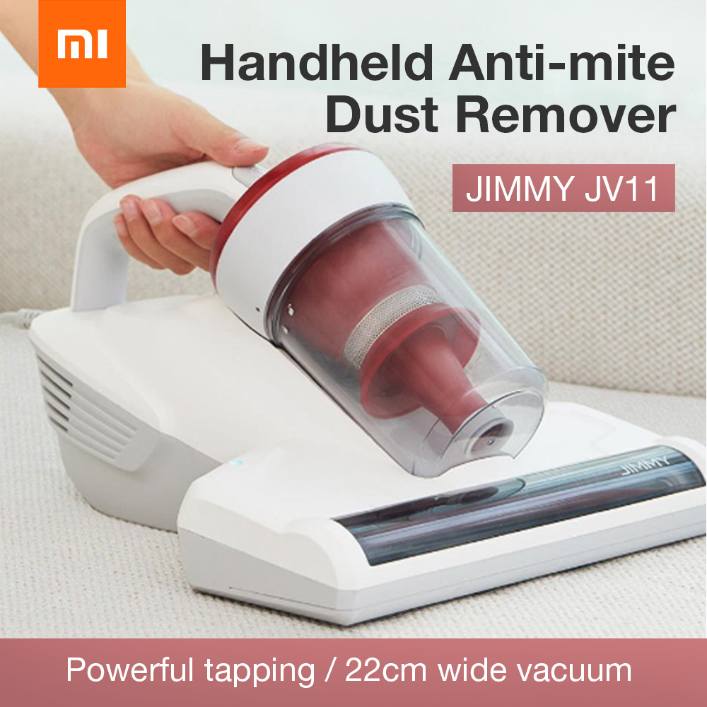 Xiaomi JIMMY JV11 Handheld Acarid killing Mini Vacuum Cleaner Super Suction Wet And Dry Dual Use Car Aspirateur Dust Collector