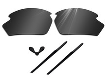 Glintbay Polarized Lenses Replacement and Rubber Nosepads Earsocks for Rudy Project Rydon Sunglasses-Multiple Colors