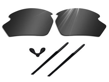 цена на Glintbay Polarized Lenses Replacement and Rubber Nosepads and Earsocks for Rudy Project Rydon Sunglasses-Multiple Colors