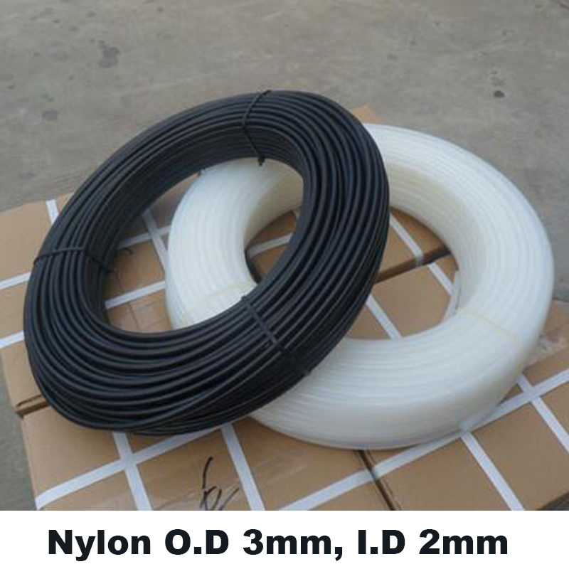 O D 3mm I D 2mm PA3 2 100m High pressure high temperature corrosion resistant Nylon