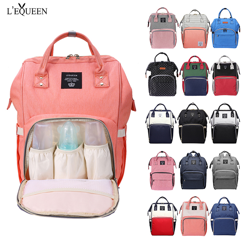 Mummy Maternity Nappy Bag Large Capacity Travel Backpack For Baby Care