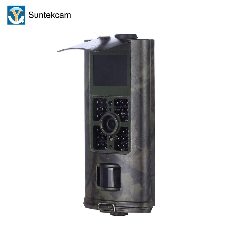 Suntekcam HC-700A caza Cámara LED foto trampa rastro cámara de visión en noche y con Video de vigilancia salvaje cámaras 16MP cámara trampa