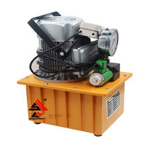 HHB-700A High Pressure Electric Hydraulic Pump Electric Oil Pump Pedal - with Solenoid Valve Oil Pressure Pump hydraulic oil pump gear pump cb b20 low pressure pump