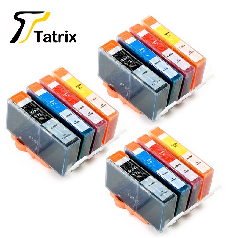 12 PCS For HP 655 Compatible Ink Cartridge For Hp Deskjet Ink Advantage 3525/4615/4625/5525/6520/6525 Printer compatible ciss for hp655 hp 655 for hp deskjet 4615 4625 3525 5525 with ink level chip