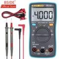 Цифровой мультиметр BSIDE ZT100  4000 отсчетов  подсветка  переменный/постоянный ток  амперметр  вольтметр  Ом  тестер частоты  диодный измеритель ...