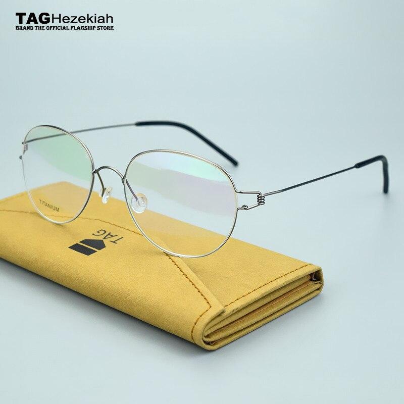 2019 fashion brand TAG eyeglasses myopia computer optical frame women retro glasses frame men oculos de grau monturas de gafas