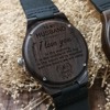 Wife to MY Husband Engraved Wooden Watch I LOVE YOU 4