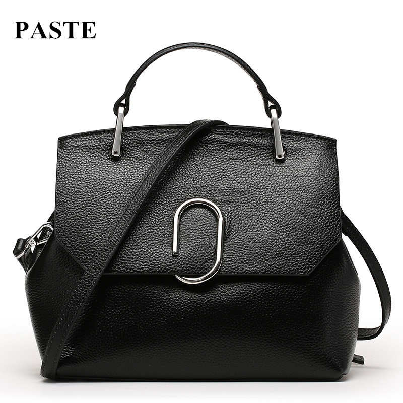 Luxury Brand Design Fashion Euramerican Style Women Leather Bag Handbags Cross-body Bags Cowhide Women's Shoulder Messenger Bags fashion leather handbags luxury head layer cowhide leather handbags women shoulder messenger bags bucket bag lady new style